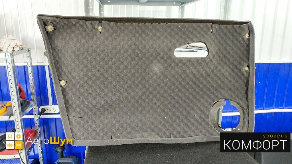 Шумоизоляция дверной обшивки ВАЗ 2114